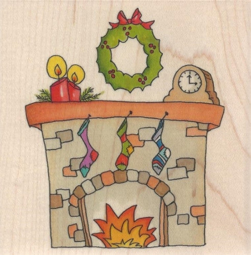 LY915 Holiday Fireplace