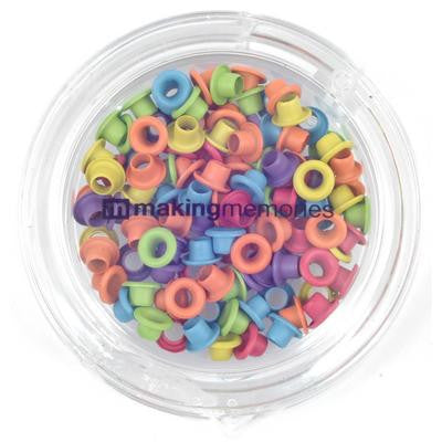 MK22879 Eyelets - Watercolour Brite Variety Pack