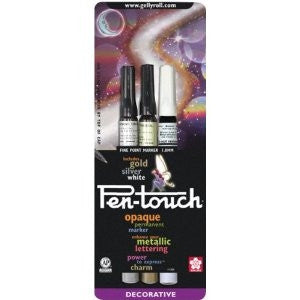 Pen-GSW ~ Pen-Touch Set of 3 Markers