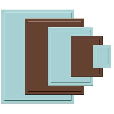 S4-130 - Nestabilities Classic Rectangles Small