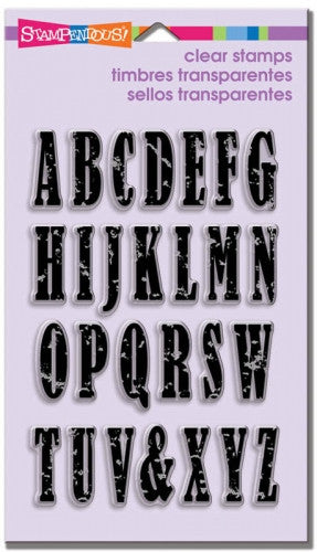 SSC1168 Vintage Uppercase Letters