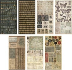 TH92898 Tim Holtz ~ Salvage Stickers