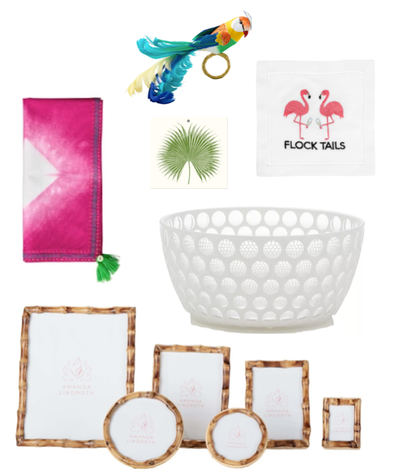 tropical entertaining gifts