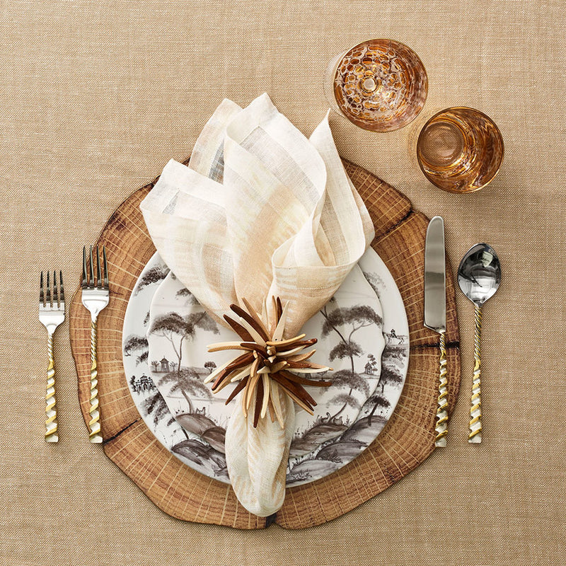 WOODLAND PLACEMATS IN NATURAL & BROWN