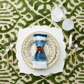 FEZ PLACEMAT IN WHITE - Pioneer Linens