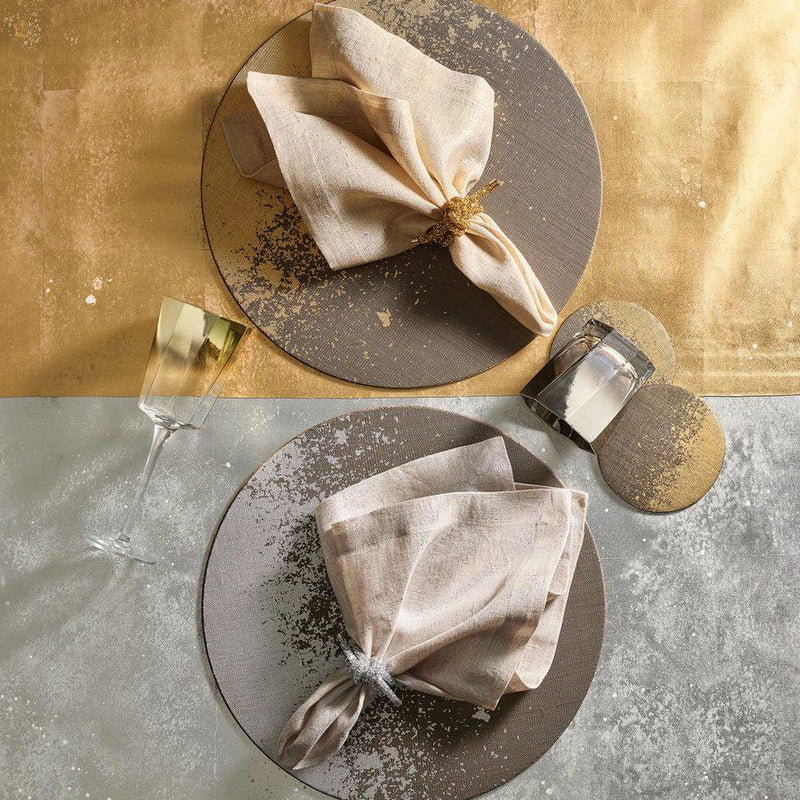 Metafoil Placemats in Gold - Pioneer Linens