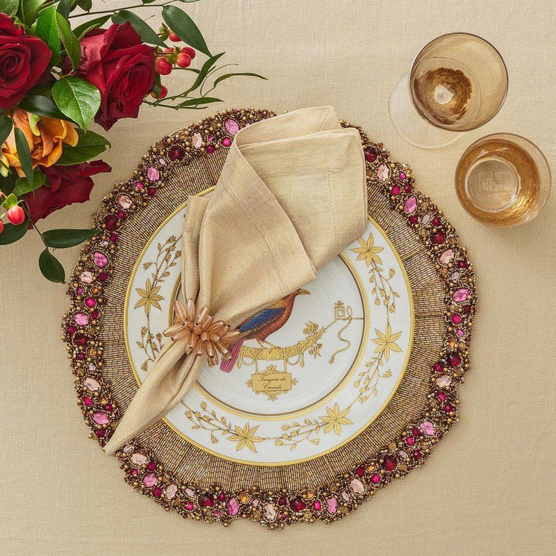 Regent Placemats in Multi - Pioneer Linens