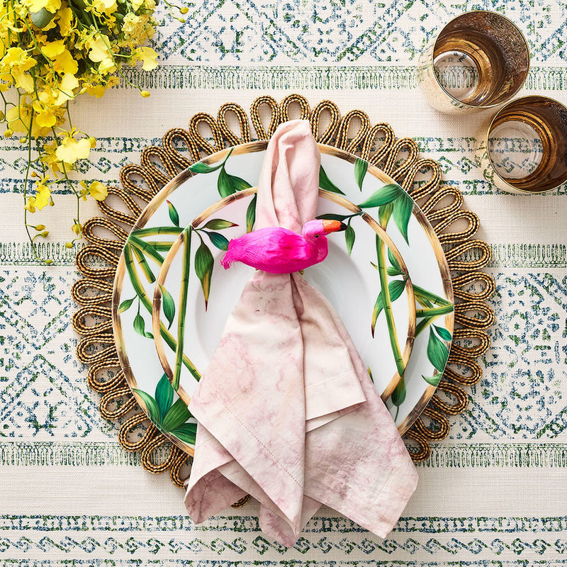 Boho Placemats in Natural - Pioneer Linens