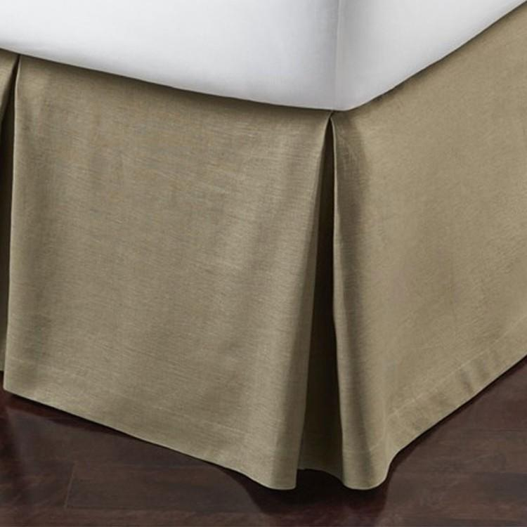 Mandalay Linen Bed Skirts - Pioneer Linens