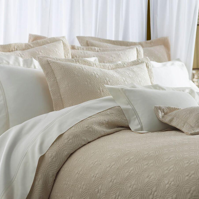 Lucia Matelassé Decorative Pillows - Pioneer Linens