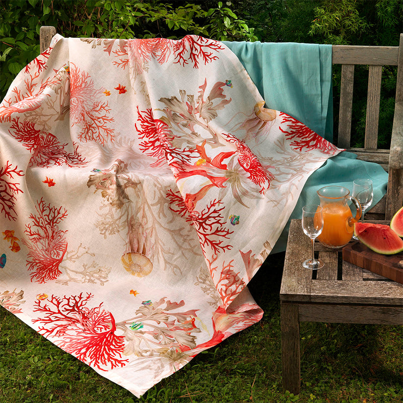 Aquarius Table Linens