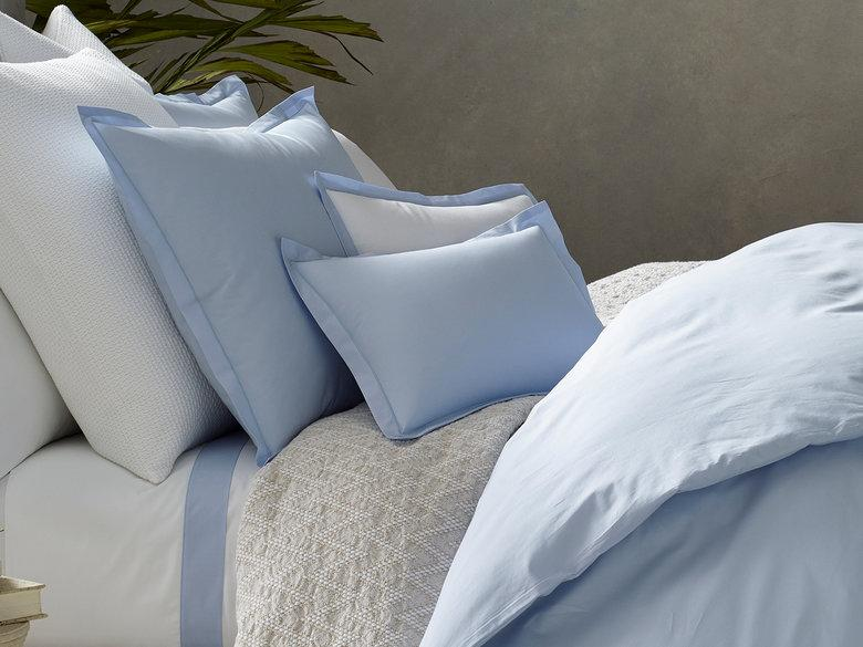 Luca Satin Stitch Bedding - Pioneer Linens
