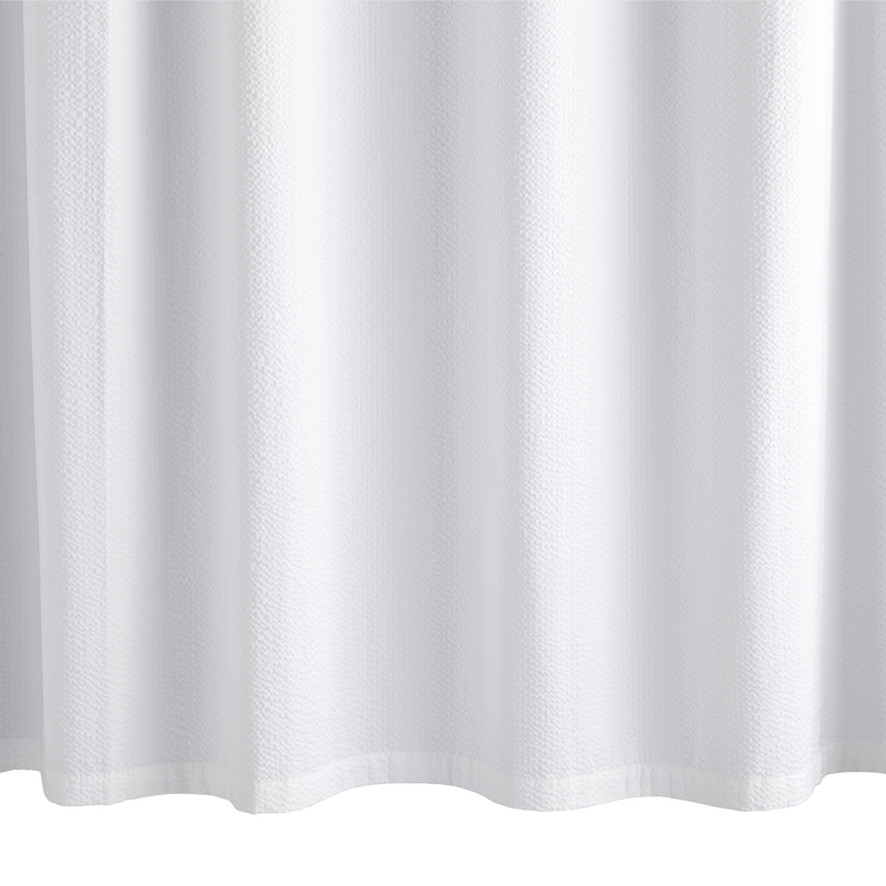 Seersucker Shower Curtain - Pioneer Linens