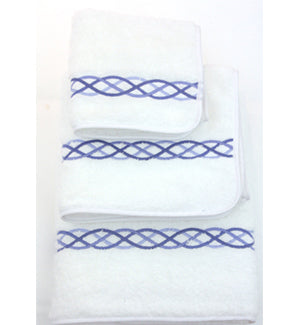 Blue Loop Towels