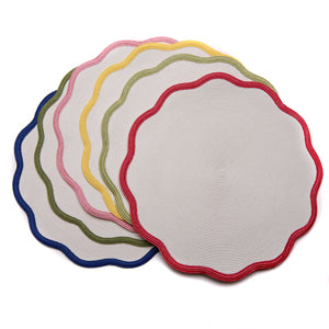 Border Scallop Placemats