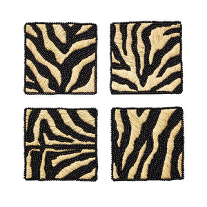 Serengeti Coasters in Natural/Black