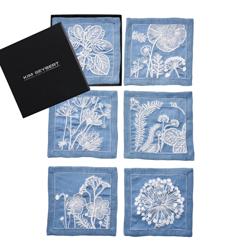 Sunprint Cocktail Napkins - Pioneer Linens