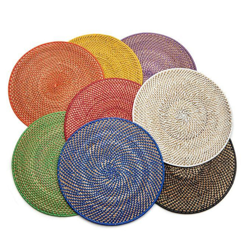 Calypso Rattan Placemat - Pioneer Linens