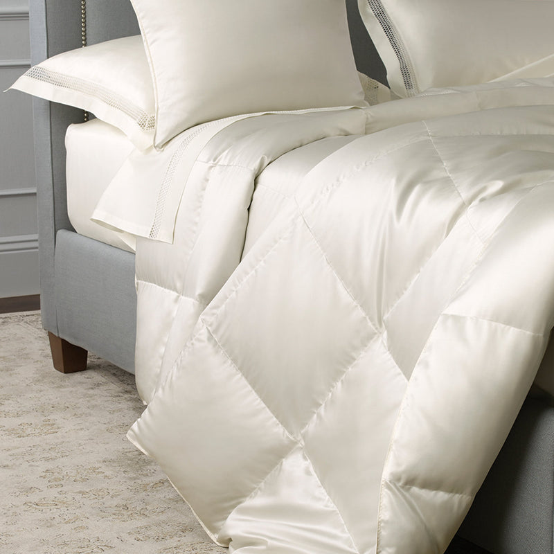 Edelweiss Silk Down Collection - Pioneer Linens