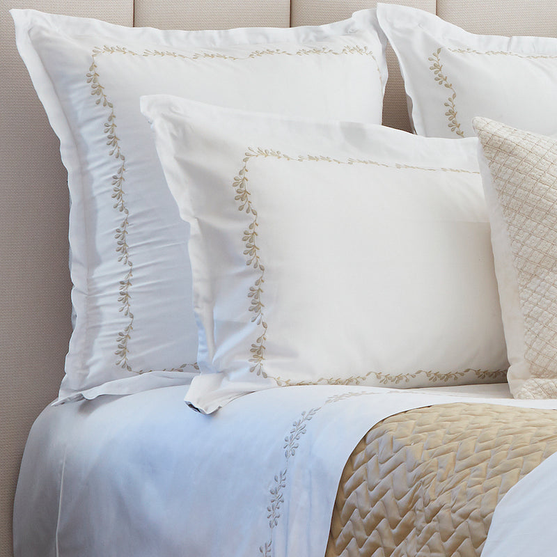 Elisee White Bed Linens