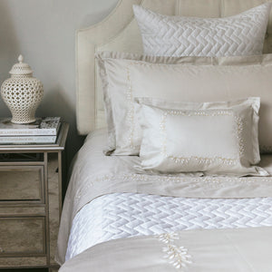 Elisee Taupe Bed Linens