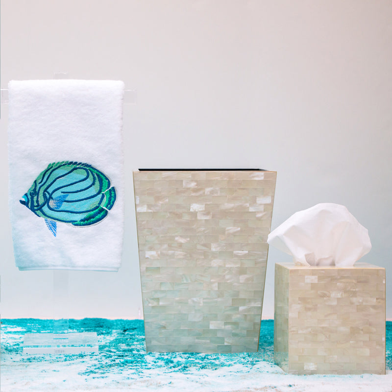 Aqua Angel Fish Towels