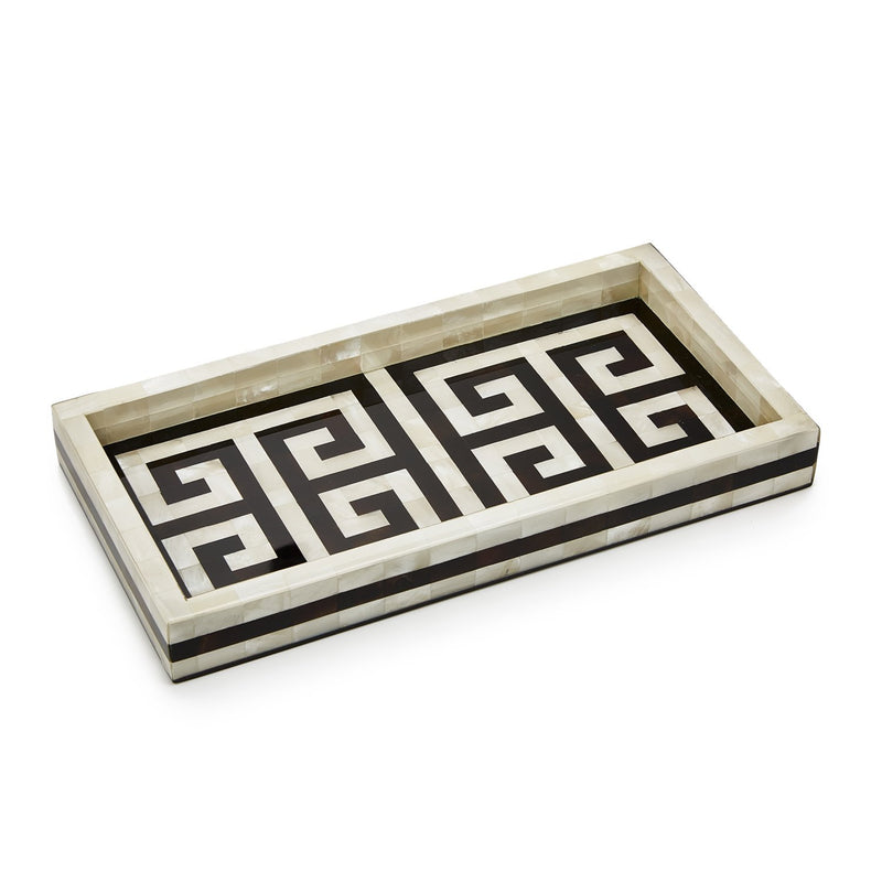 Greek Key Vanity Set