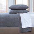 Vivada Gray Woven Quilt - Pioneer Linens