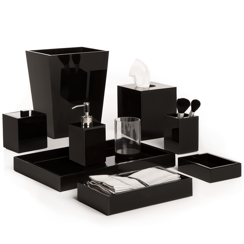 Ice Accessories (Black Lucite) - Pioneer Linens