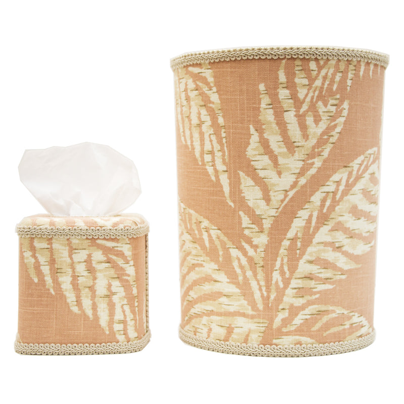 Peach Pineapple Vanity Set - Pioneer Linens