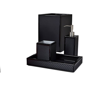 Le Mans Black Vanity Set