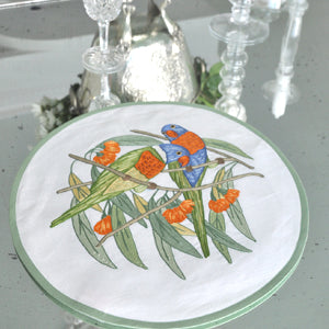 Parrots - Placemat and Napkin Set