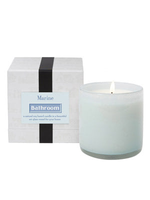 Marine Bathroom Candle - Pioneer Linens
