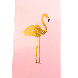Flamingo, Gold Foiled & Embossed Match Box