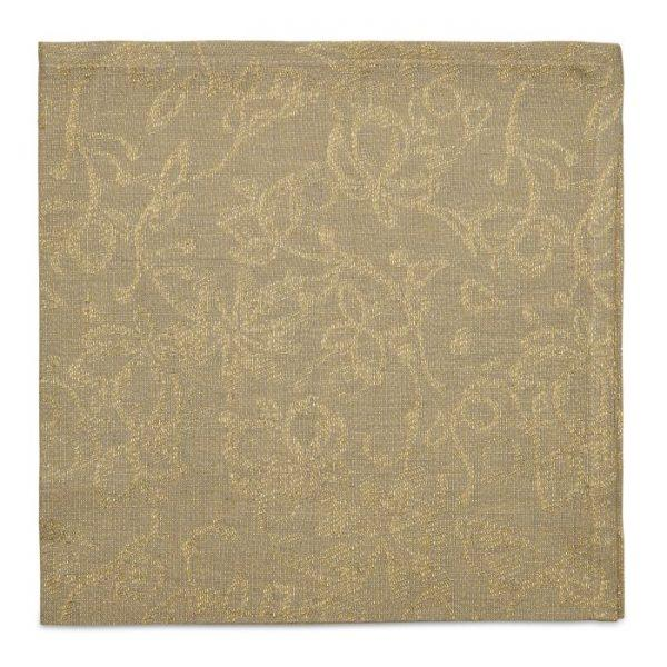 Metallic Tapestry Napkins - Pioneer Linens