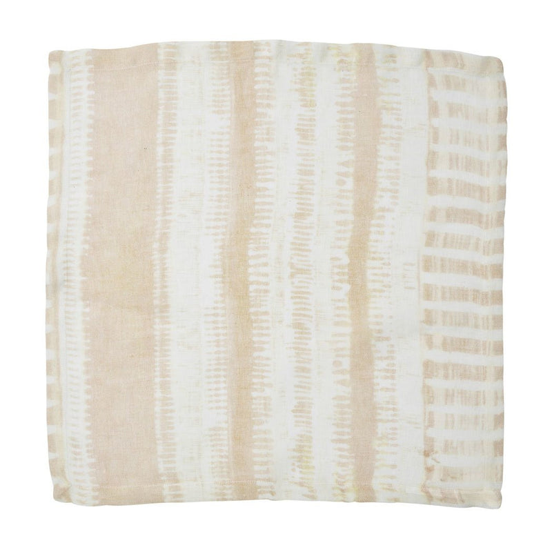 BAZAAR NAPKIN IN IVORY & NATURAL