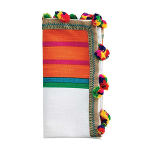 JAIPUR COTTON NAPKIN IN WHITE & MULTI