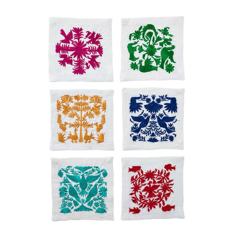 OTOMI COCKTAIL NAPKINS IN MULTI - Pioneer Linens