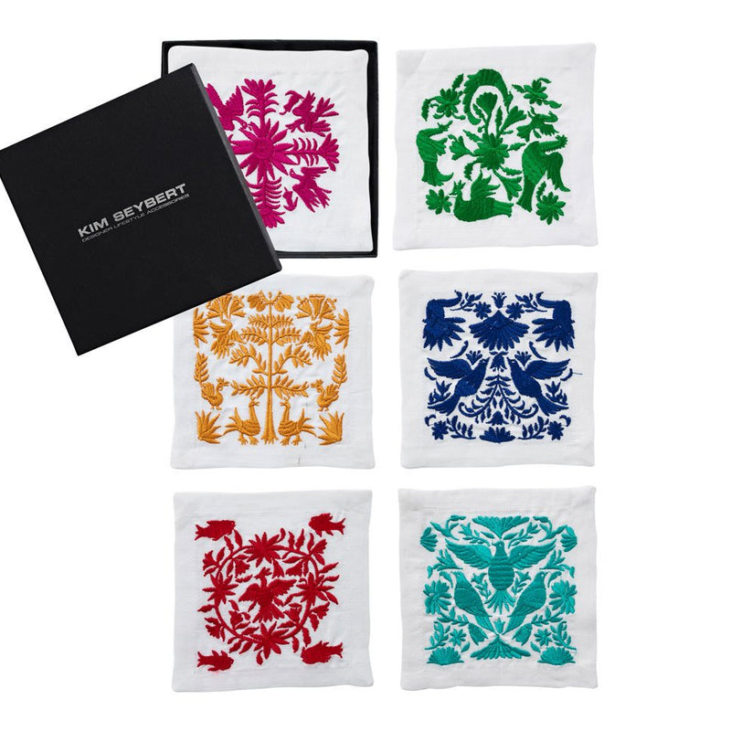 OTOMI COCKTAIL NAPKINS IN MULTI