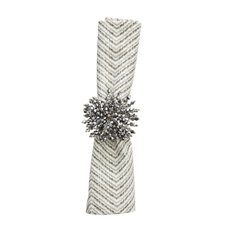 BRILLIANT NAPKIN RINGS IN SILVER