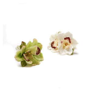 New Orchid Napkin Ring Set