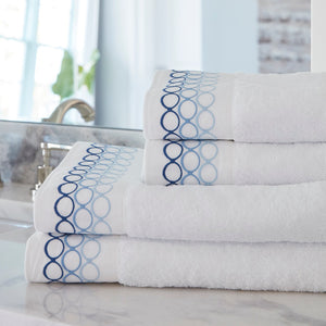 Ovaline Towels Blue