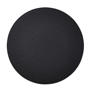 SHAGREEN PLACEMAT IN BLACK