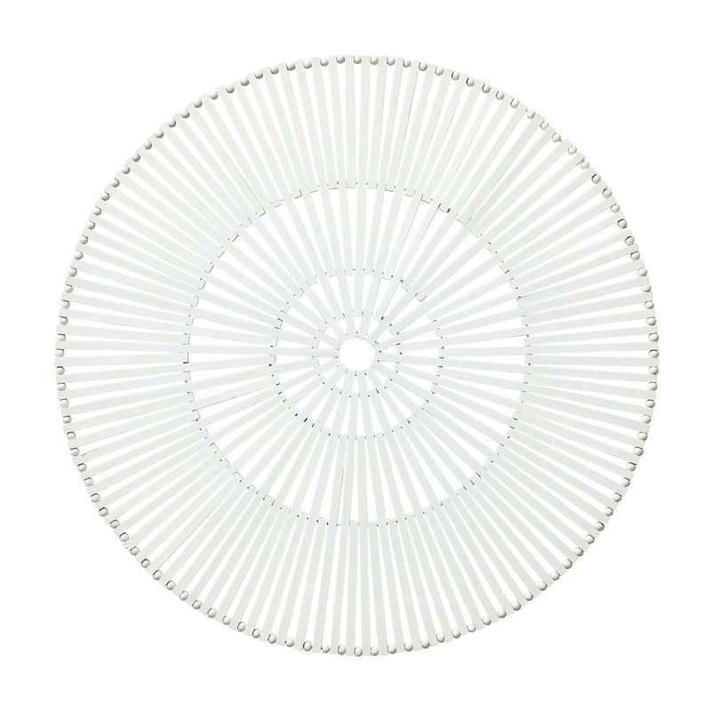 SPOKE PLACEMAT IN WHITE - Pioneer Linens