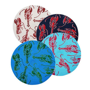 Painted Lobster Placemats