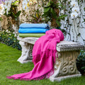 Rey Cashmere Throws - Pioneer Linens