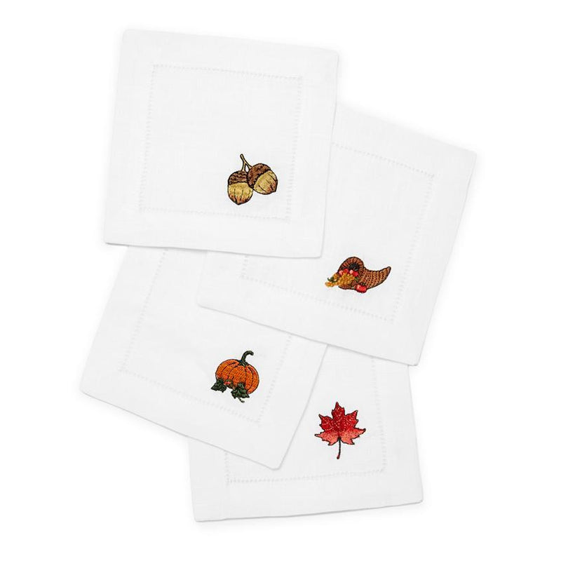 Autunno Cocktail Napkins - Pioneer Linens