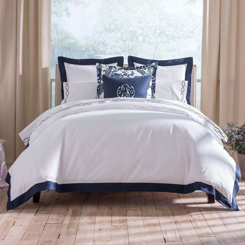 Mandalay Linen Cuff Percale Bed Linens - Pioneer Linens