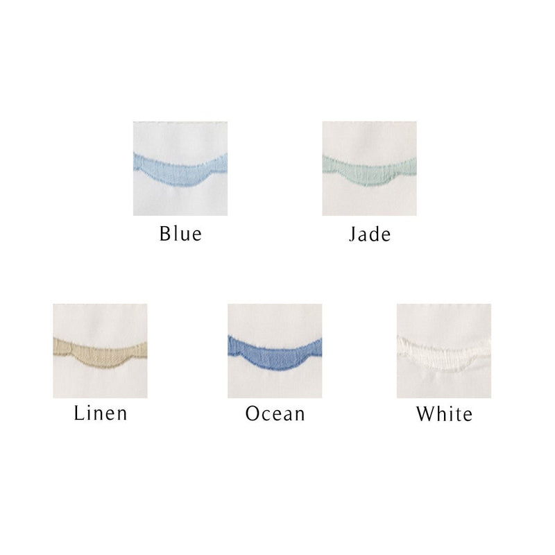 Scallop Bed Linens