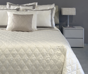 King Quilted Coverlet / 114 X 102